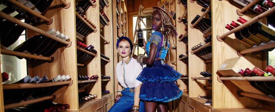 Liz Ogumbo Check Print - 12yrs a Brand 5