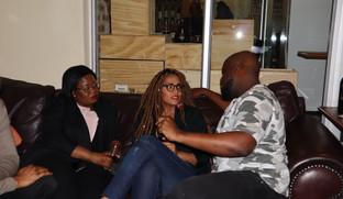 Liz Ogumbo Wine Tasting Winsense, Melros