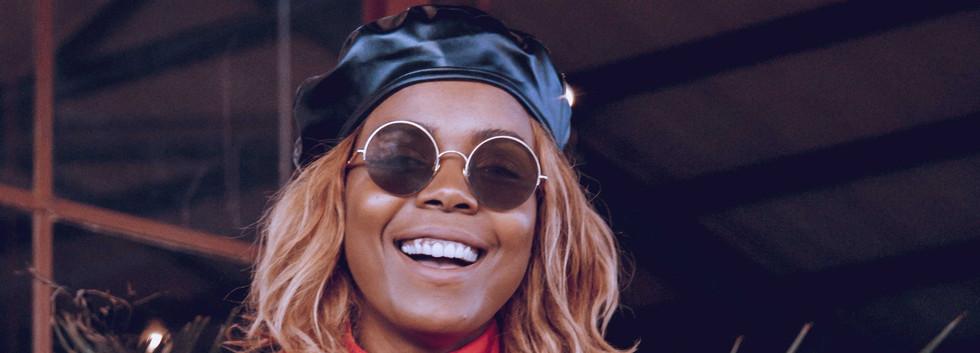 Liz Ogumbo Wine tasting - JOBURG LOVES W