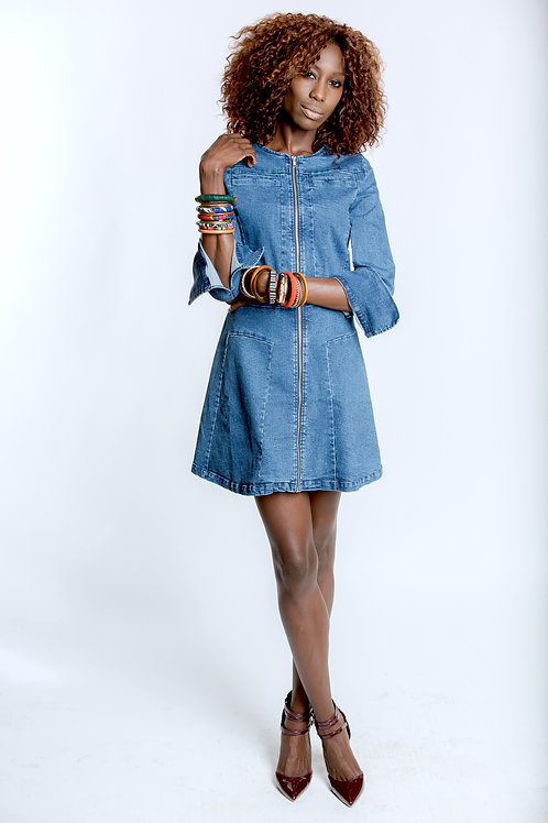 Diani Trench Dress