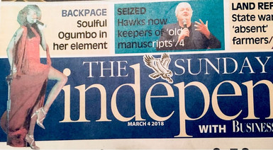 Liz Ogumbo interview - The Sunday Independent
