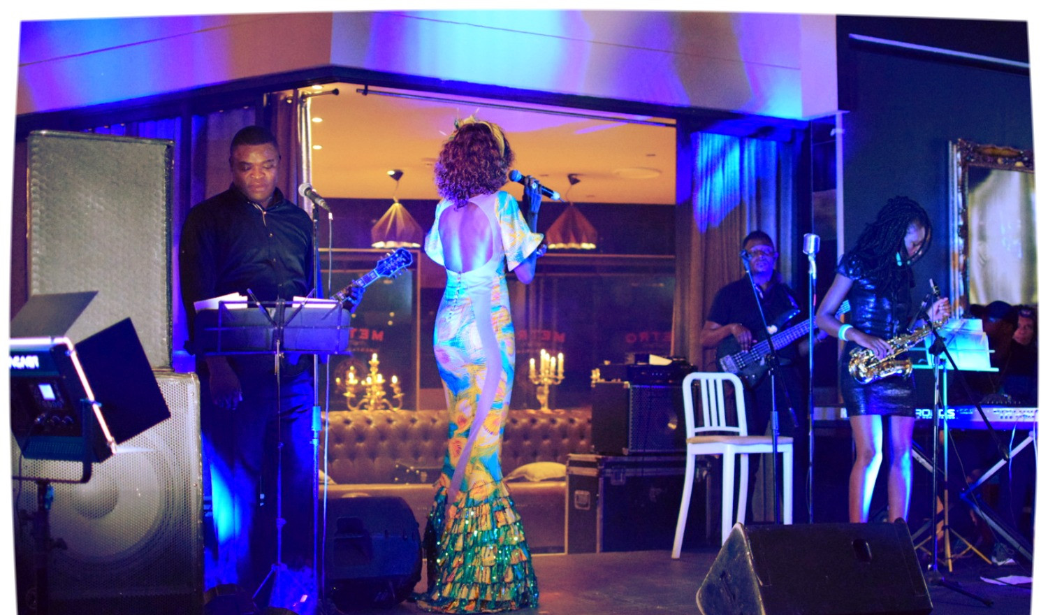 Liz Ogumbo LIVE at KenSoul Listening Experience 2018 - 1