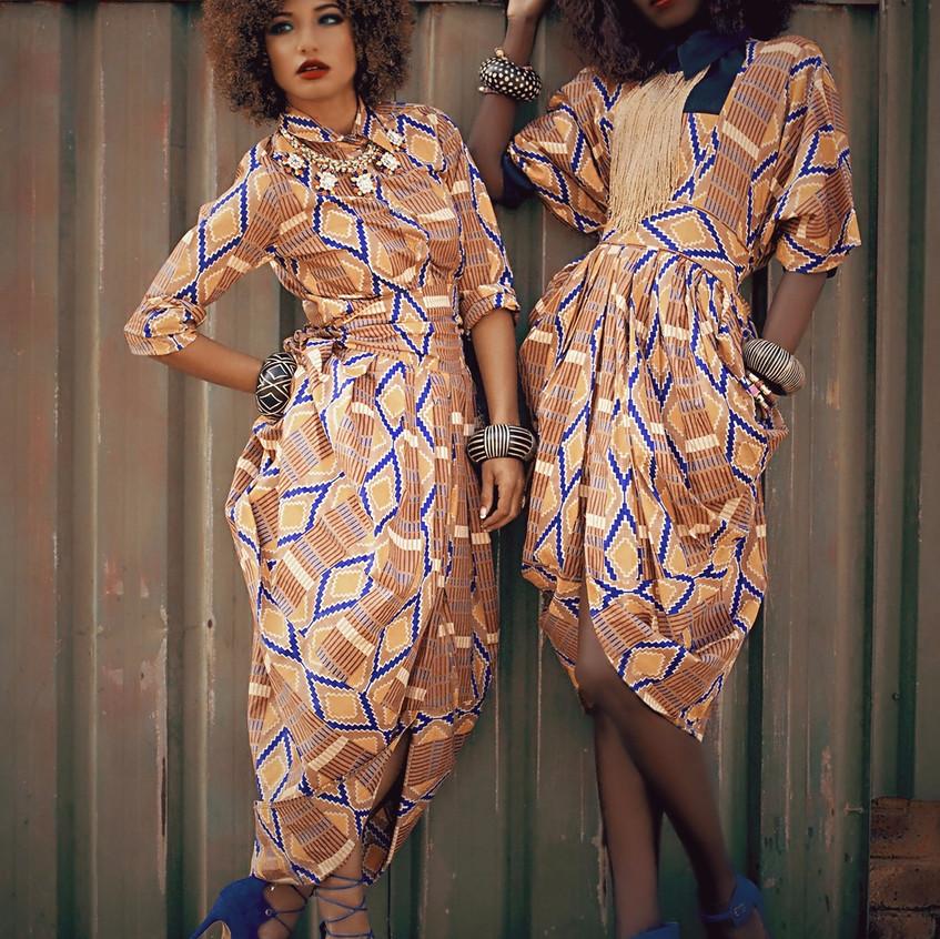 Liz Ogumbo Boubou dress Bouboulicious