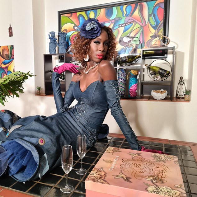 Liz Ogumbo - Phoenix Rising - Denimania