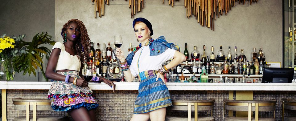 Liz Ogumbo Fashion and Liz Ogumbo Wine 1