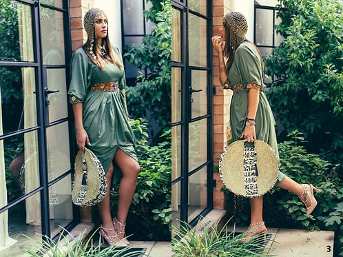 Boubou Dress (Cotton Lycra)