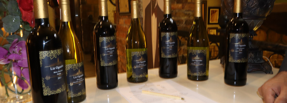 Liz Ogumbo Winetasting - Verdicchio Restaurant, Monte Casino 1