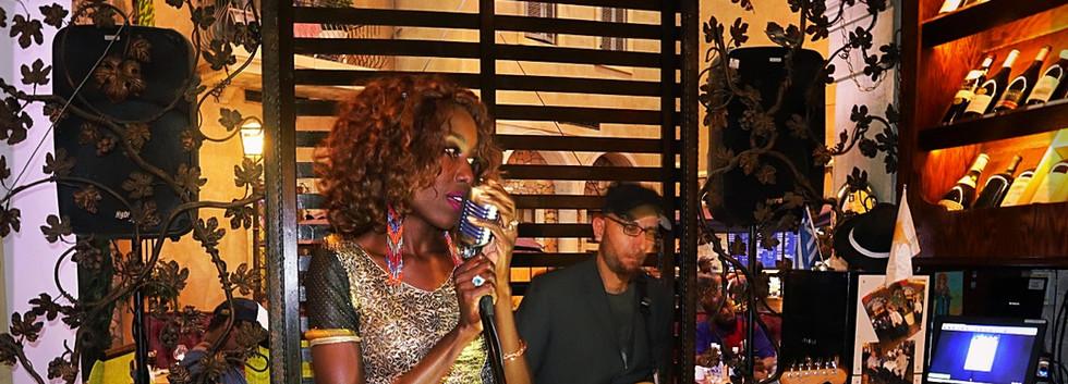 Liz Ogumbo Winetasting - Verdicchio Restaurant, Monte Casino 9