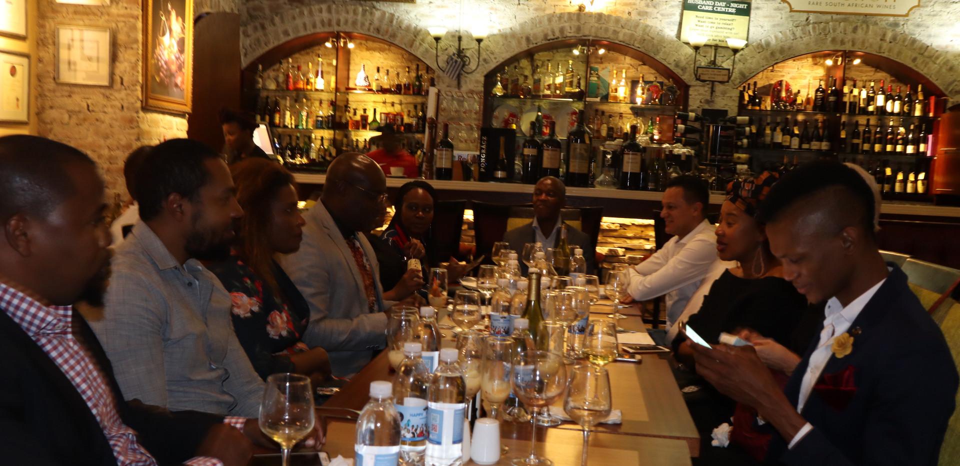 Liz Ogumbo Winetasting - Verdicchio Restaurant, Monte Casino 8