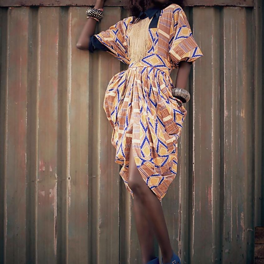 Liz Ogumbo Boubou dress Bouboulicious 1