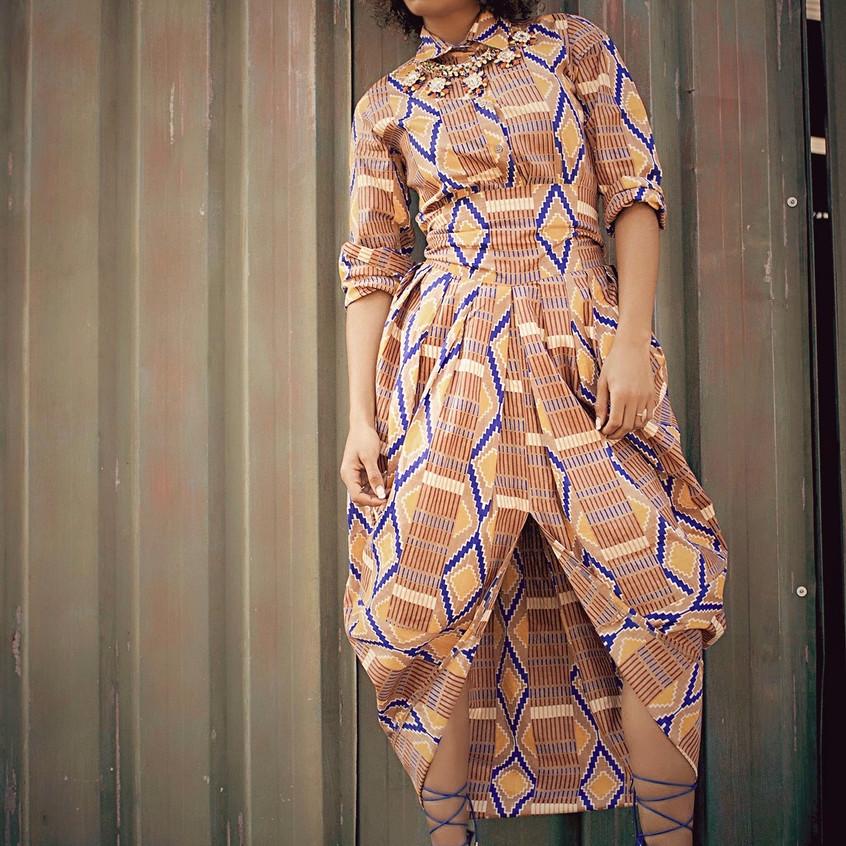 Liz Ogumbo Boubou dress Bouboulicious 2
