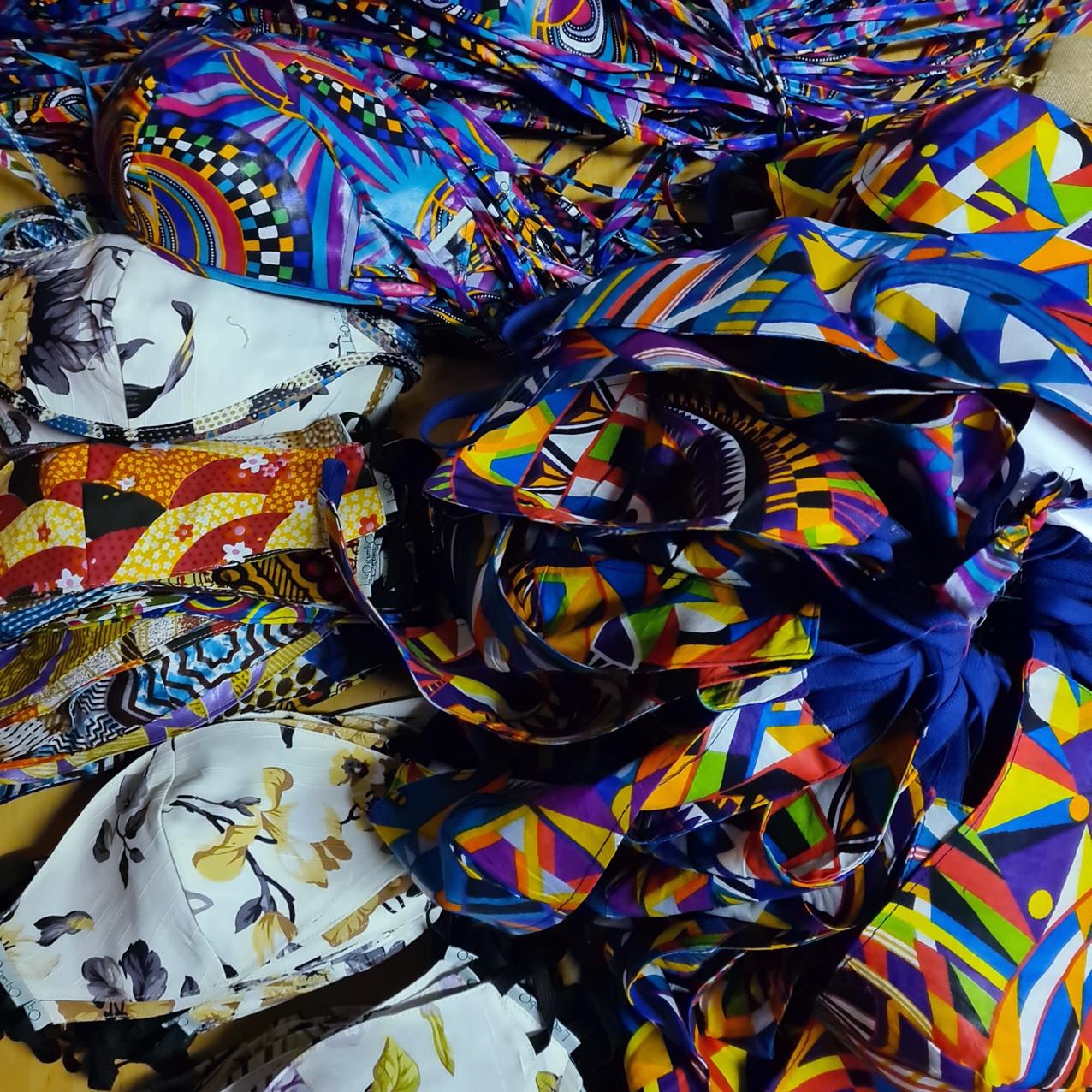 Photo Credit: Liz Ogumbo Fashion Masks