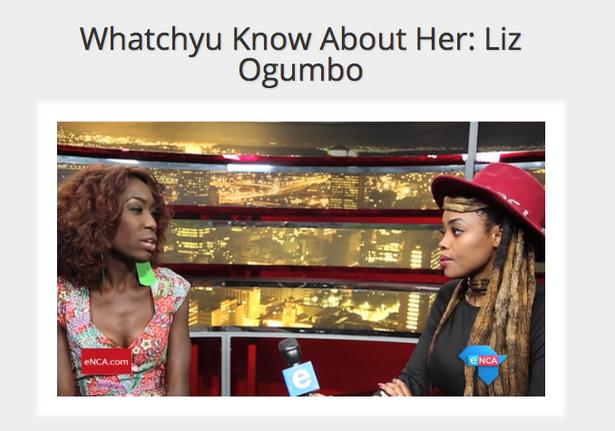 Liz Ogumbo ENCA Interview - 1CLICK