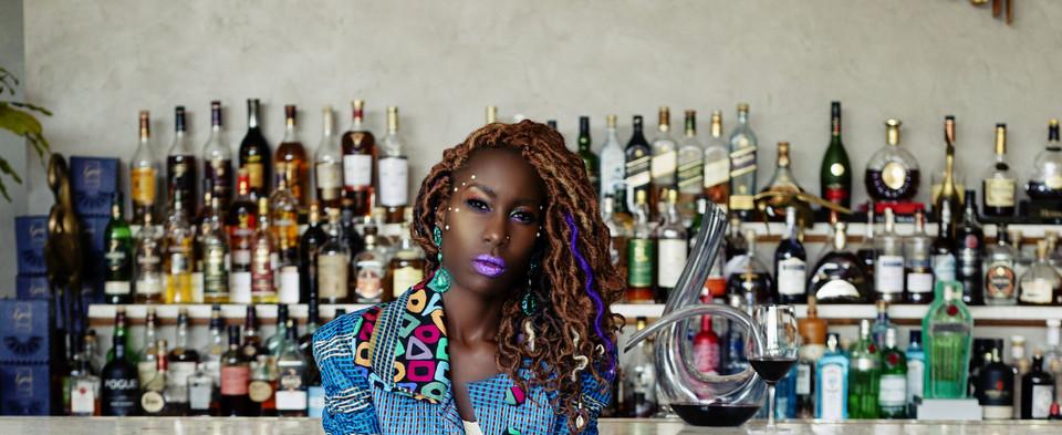 Liz Ogumbo Check Print - 12yrs a Brand 2