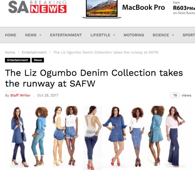 Liz Ogumbo Interview - SA Breaking news