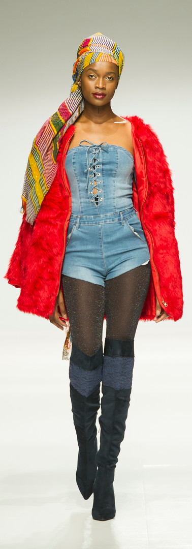 Liz Ogumbo SA Fashionweek AW18 DENIMANIA 10