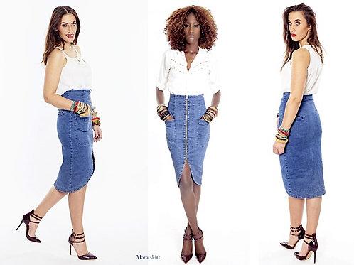 Liz Ogumbo Mara Skirt