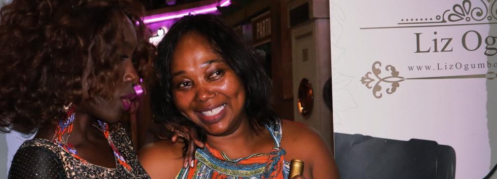Liz Ogumbo Winetasting - Verdicchio Restaurant, Monte Casino 2