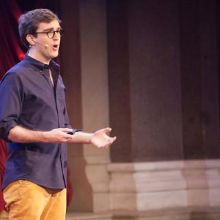 """אמנות הפרזנטציה- """"האיך"""" בלי ה""""מה"""" TED- מאת וויל סטפן, שחקן וקומיקאי."""