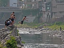 ふるさと郡上会,川遊び,田舎暮らし,田舎体験,移住,体験,吉田川,移住したい