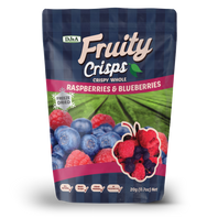 Fruity Crisps Raspberies & Bleuberries