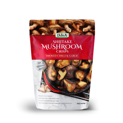 Sweet Chilli & Garlic Mushroom 30g Front