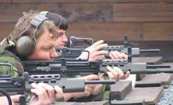 Shooting the L98A2 Rifle