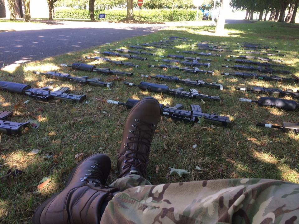 L98A2 Rifles at RAF College Cranwell