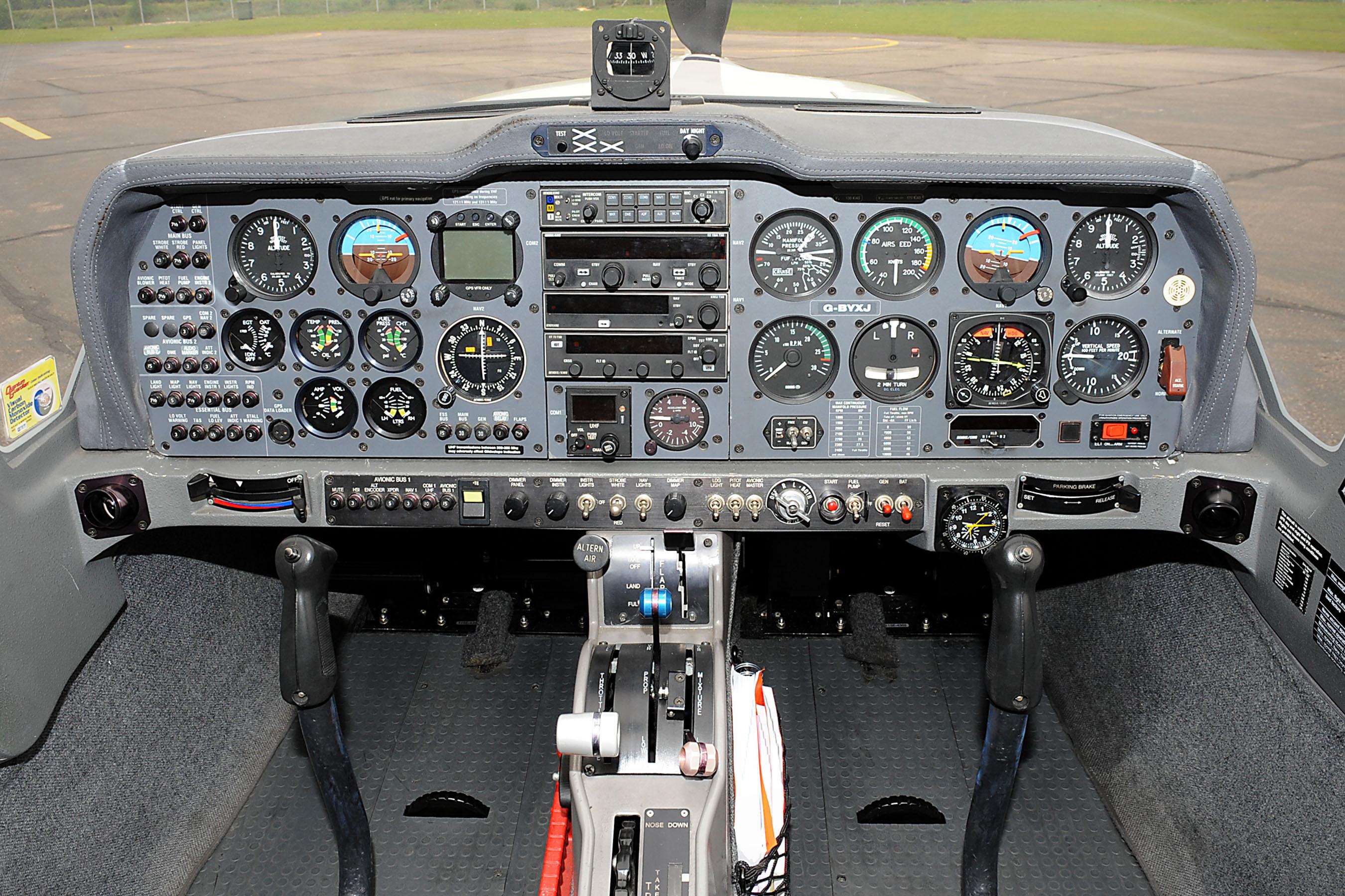 Grob Tutor Cockpit