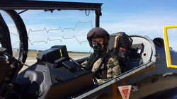 Cadet in a Hawk T2, RAF Valley Camp