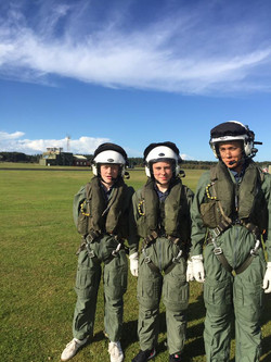 Cadets at RAF Woodvale