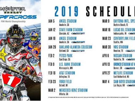 2019 Monster Energy Supercross World Championship Coming to Mercedes-Benz Stadium on Saturday, Marc