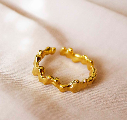 Nera Gold Ring