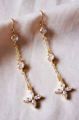 Valeria Threader Earrings