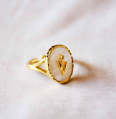 Evie Gold Ring