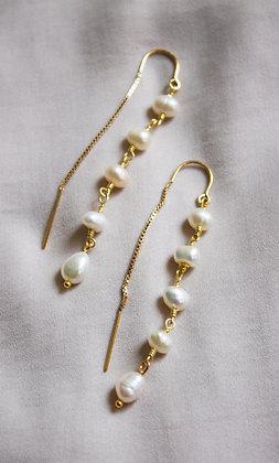 Cecily Threader Earrings