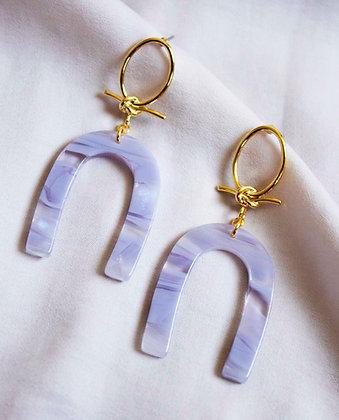 Amara Acetate Earrings