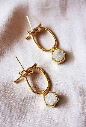 Zara Druzy Earrings