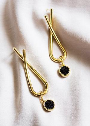 Kinsley Druzy Earrings