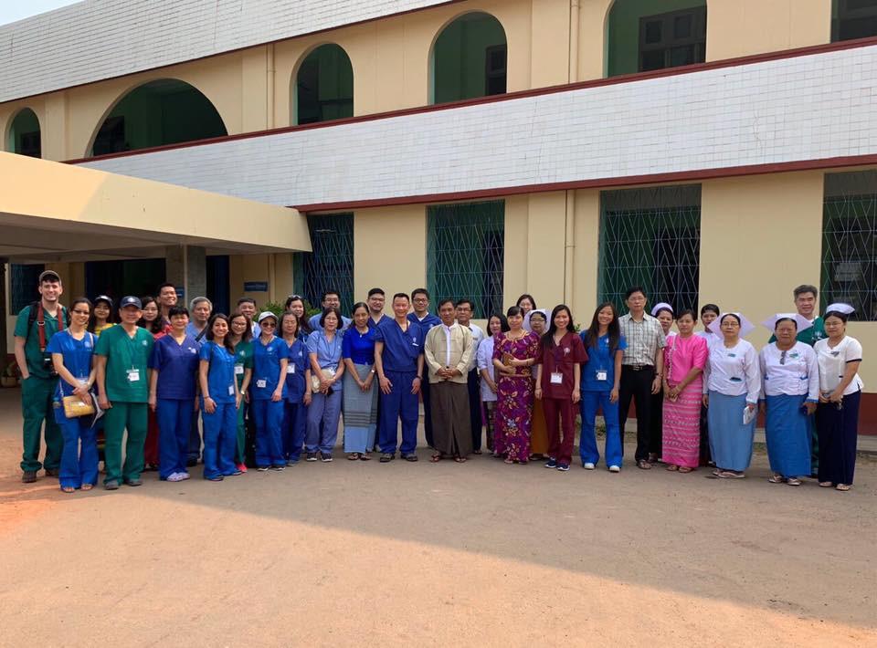WHA Team Myanmar 2019 with Mawlamyine te