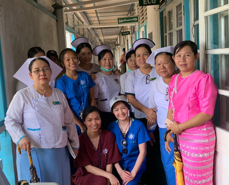 WHA Myanmar 2019 WHA team and colleagues