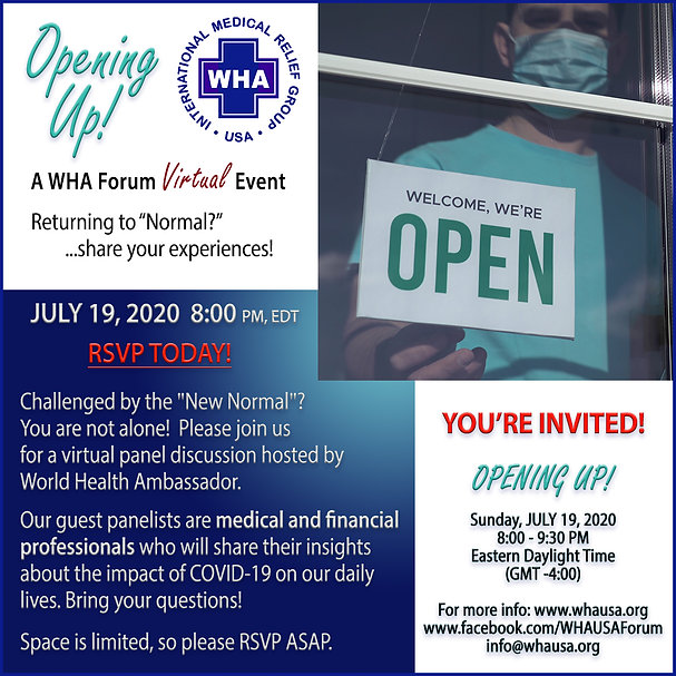 WHA Virtual Panel Discussion July 2020 F