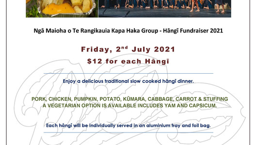 Kapa Haka Hāngī Fundraiser
