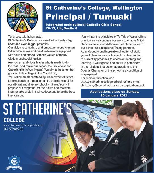 Vacancy: Principal/Tumauaki