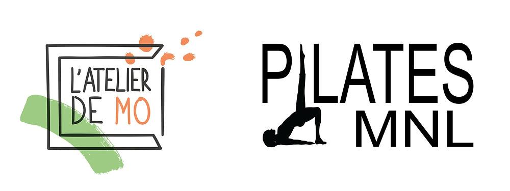 Logos atelier de Mo et Pilates MNL