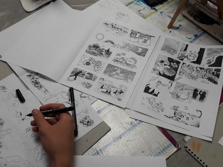 Stages de dessin, Août 2020