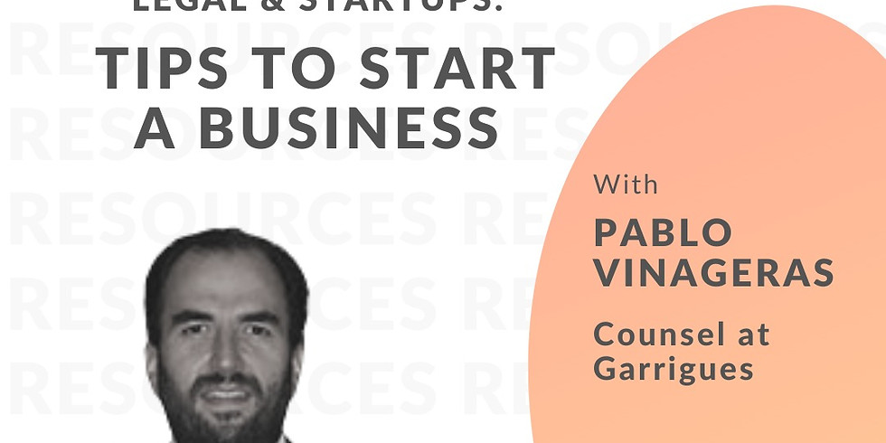 Legal & Startups: Tips to start a business