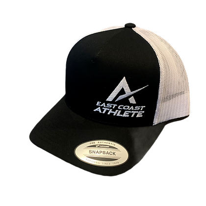 Classic Black and White Trucker Hat