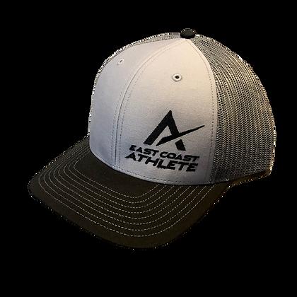 Grey and Black Trucker Hat