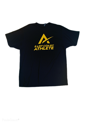 Black and Gold 87 Tee